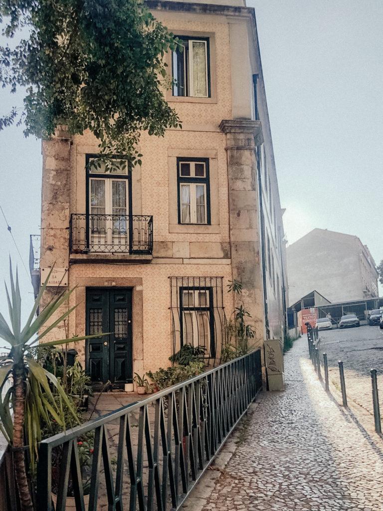 Via e casa di Lisbona