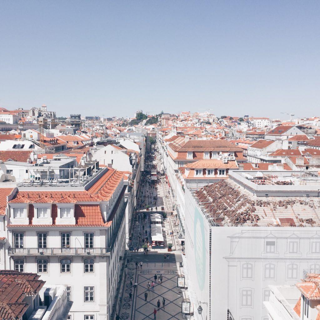 Vista di Lisbona