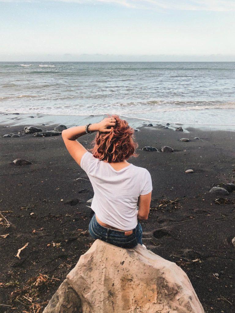 spiaggia vulcanica