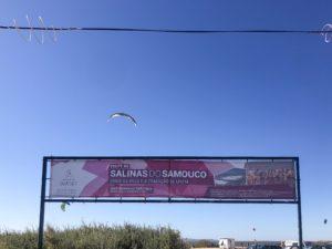 cartellone di presentazione delle saline do samouco