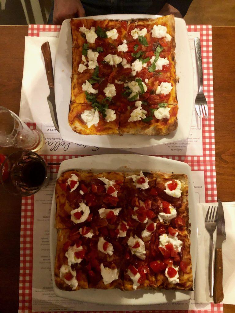 Due pizze romane