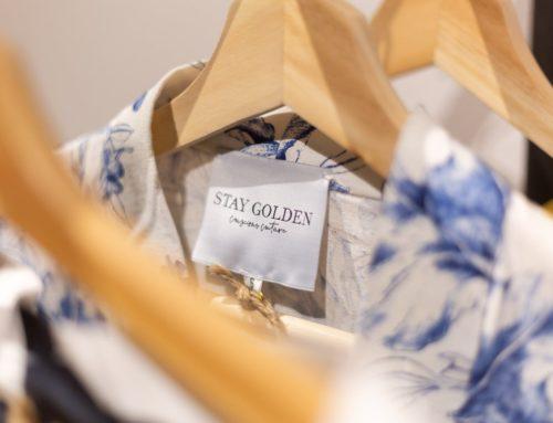 Stay Golden per un armadio più sostenibile.