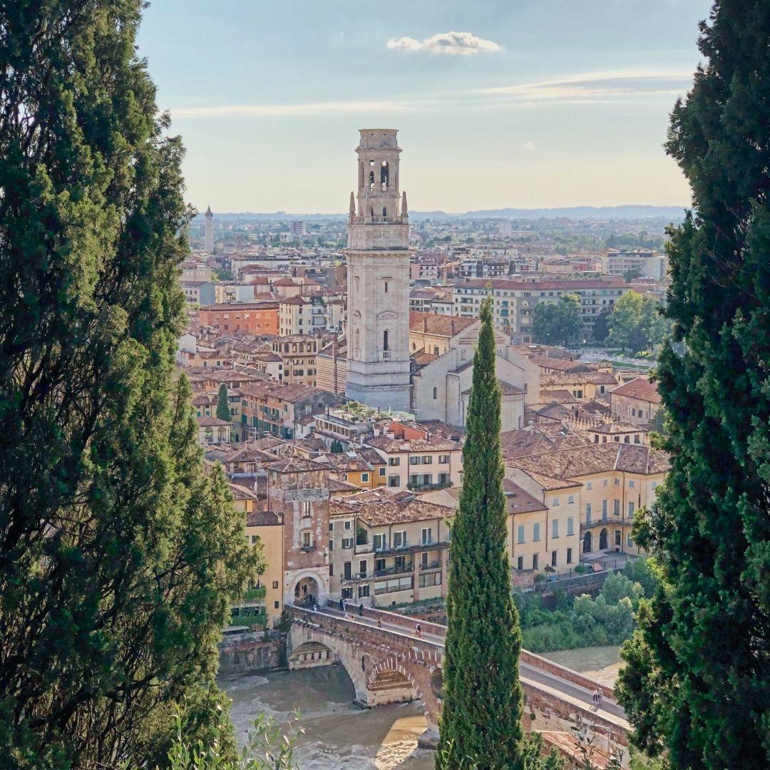 Vista su Verona da Castel San Pietro